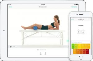 Oefeningen online fysiotherapie e consult
