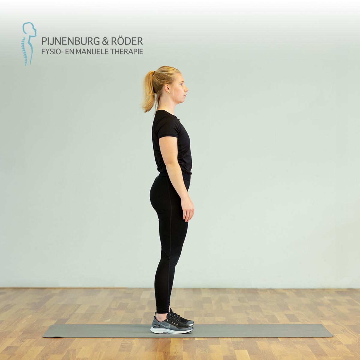 kracht oefening knie squat