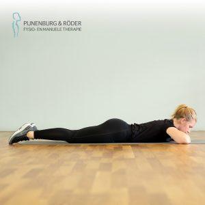 prone leg raise