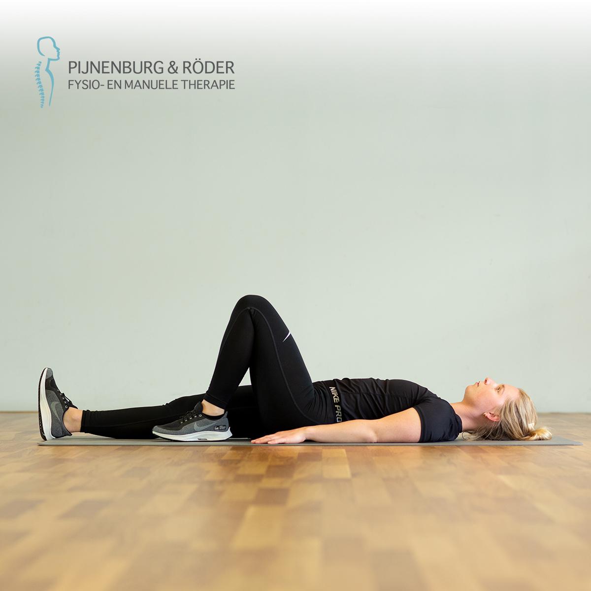 mobiliteit oefening knie flexie